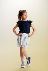 Creamie Woven Shorts w/Lemons