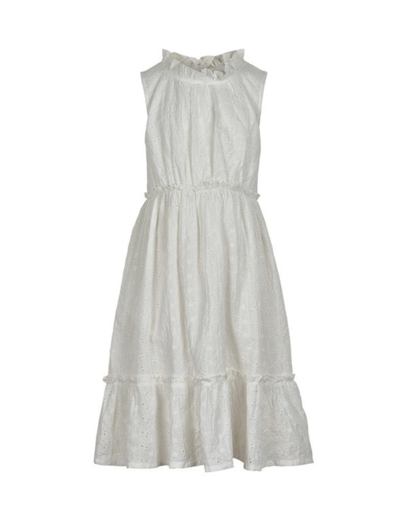 Creamie Embroidery Dress Cloud