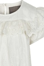 Creamie Embroidery Blouse Cloud
