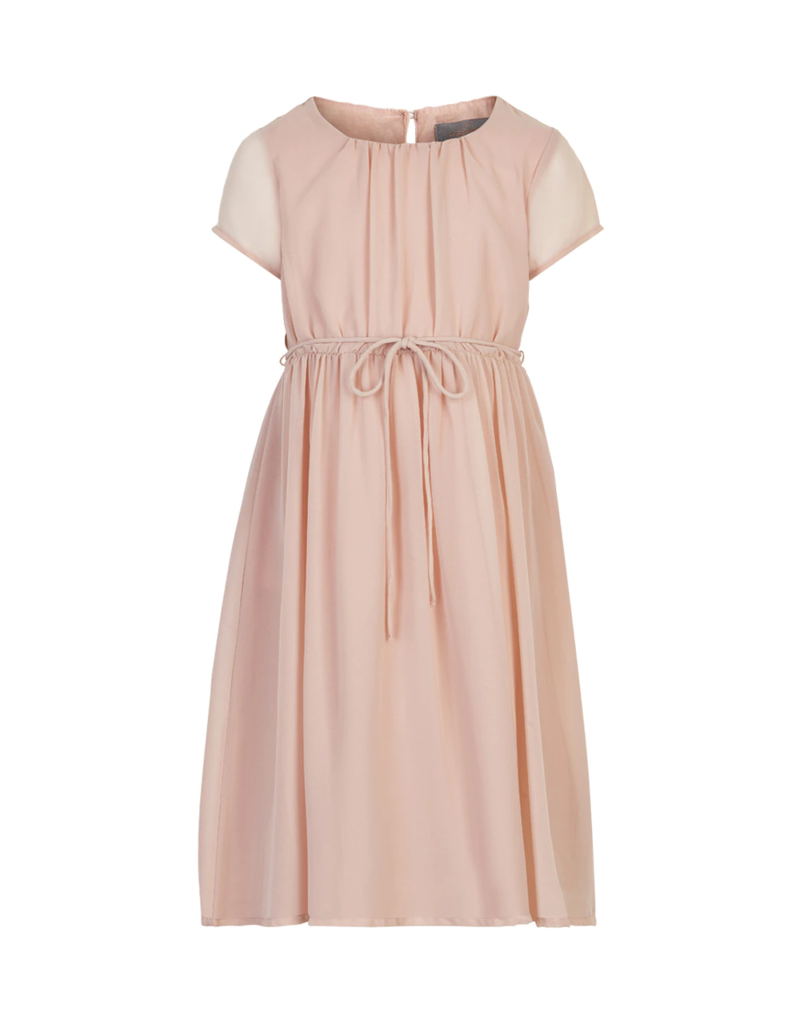 Creamie Chiffon Dress Rose Smoke