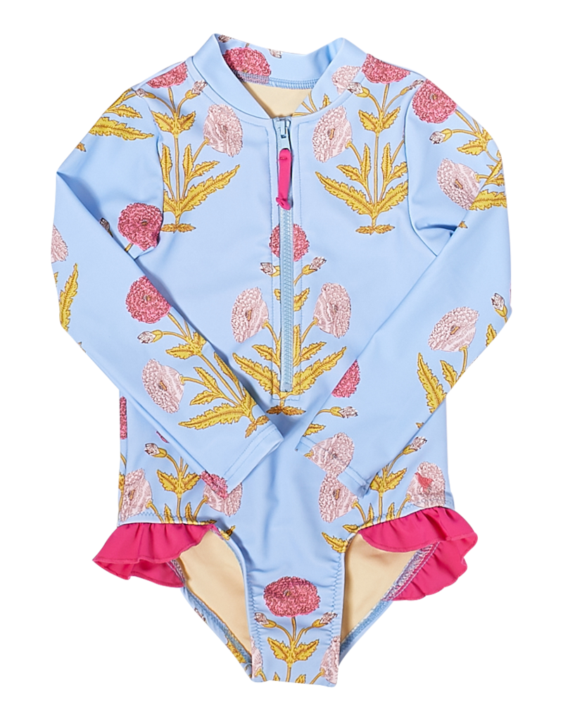Pink Chicken Baby Arden Suit Blue Bell