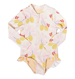 Pink Chicken Arden Suit Antique White 2-7