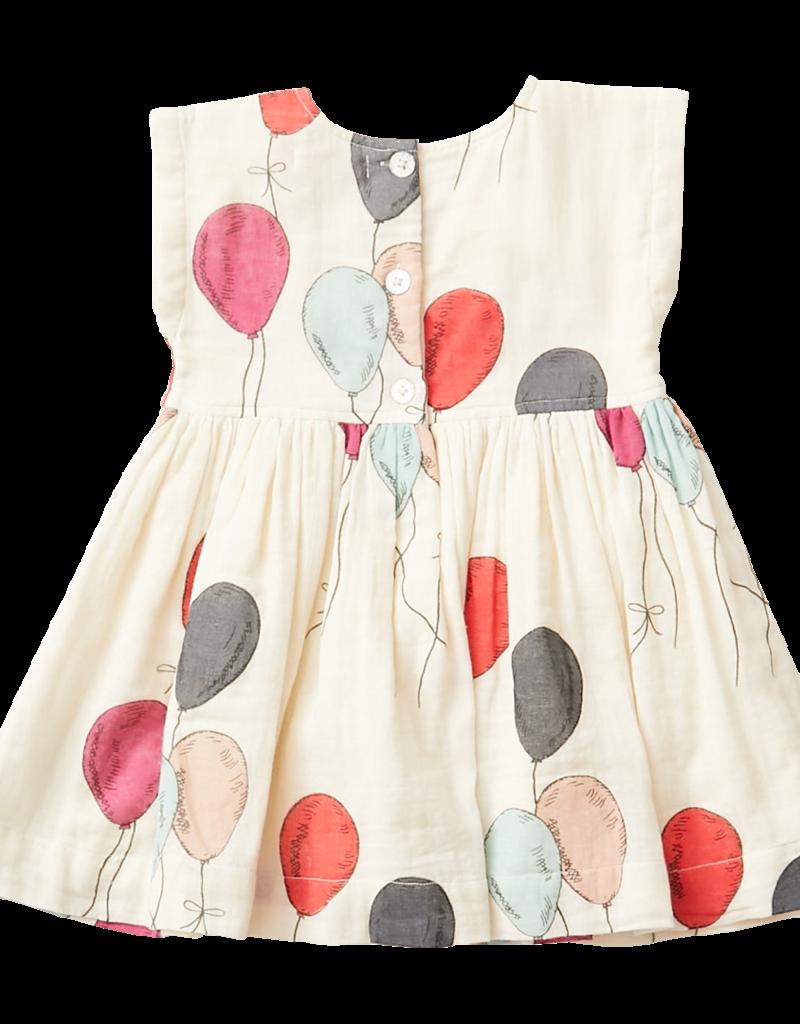 Pink Chicken Adaline Dress Pink/Red Balloons
