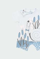 Boboli Blue Snail Shortall