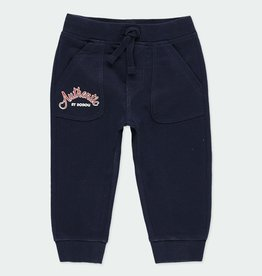 Boboli Boboli Fleece Navy Pants 2-6