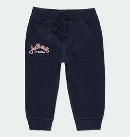 Boboli Boboli Fleece Navy Pants
