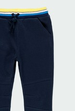 Boboli Navy Fleece Pants /Ribbed Waist