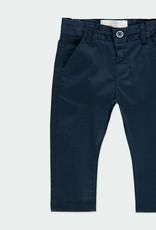 Boboli Stretch Satin Pants Navy