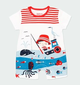 Boboli Boys Sea World Shortall 3M-12M