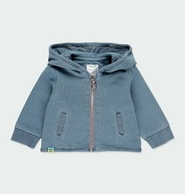 Boboli Denim Style Fleece Jacket 3M, 12M