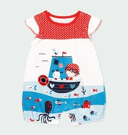 Boboli Girls Sea World Shortall 3M-12M