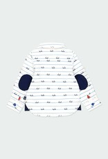 Boboli L/S Poplin Shirt w/Elbow Pads