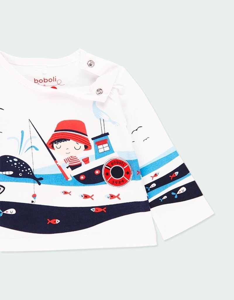 Boboli Lil' Boy Fishing L/S Tee