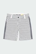 Boboli Navy Striped Bermuda Shorts