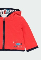 Boboli Reversible Fish Print Jacket