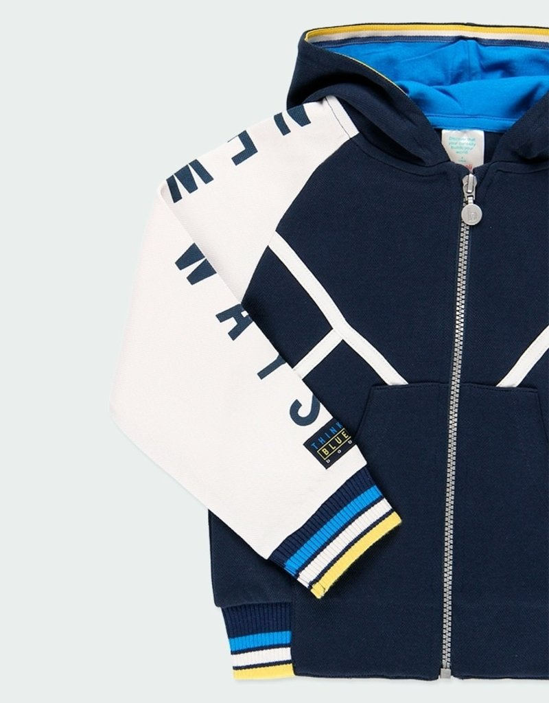 Boboli Tricolor Fleece Jacket