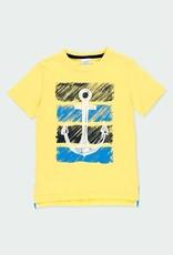 Boboli Yellow S/S Tee w/Anchor