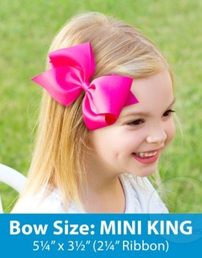 Wee Ones Mini King Grosgrain  New Aqua