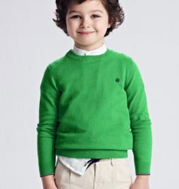 Mayoral Crew Neck Sweater Matcha