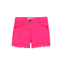 Boboli Stretch Gabardine Shorts Hibiscus 4