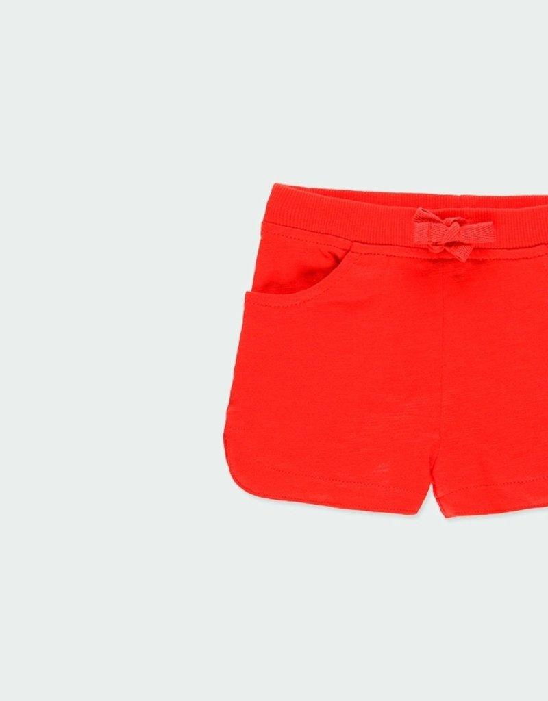 Boboli Knit Poppy Short Set
