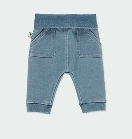 Boboli Fleece Denim Pants 3M-18M