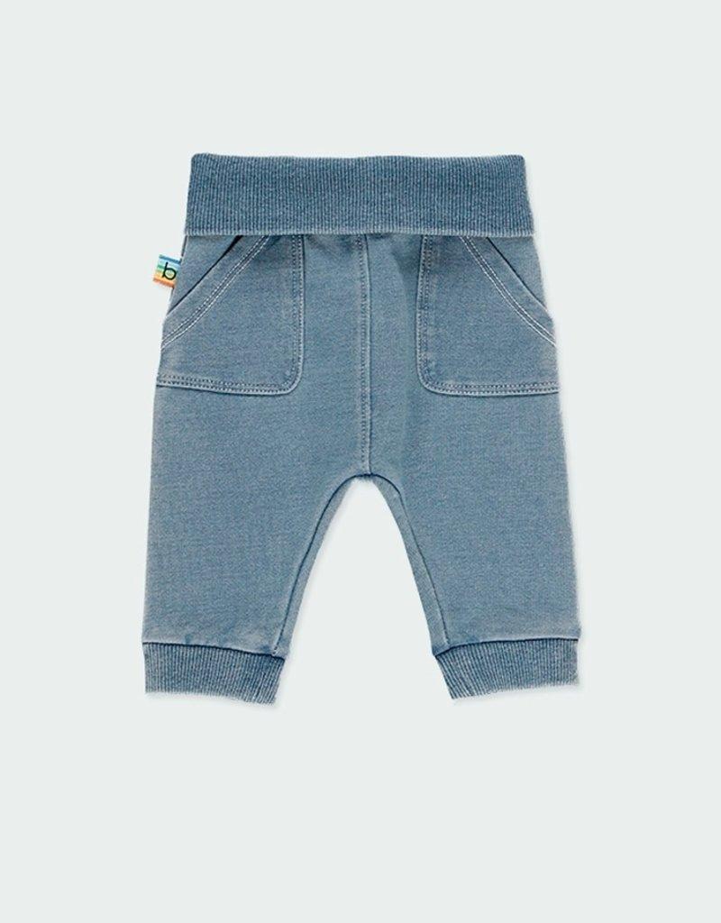 Boboli Fleece Denim Pants