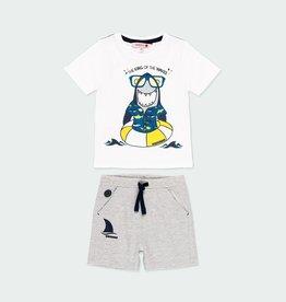 Boboli Boys Shark 2pc Short Set