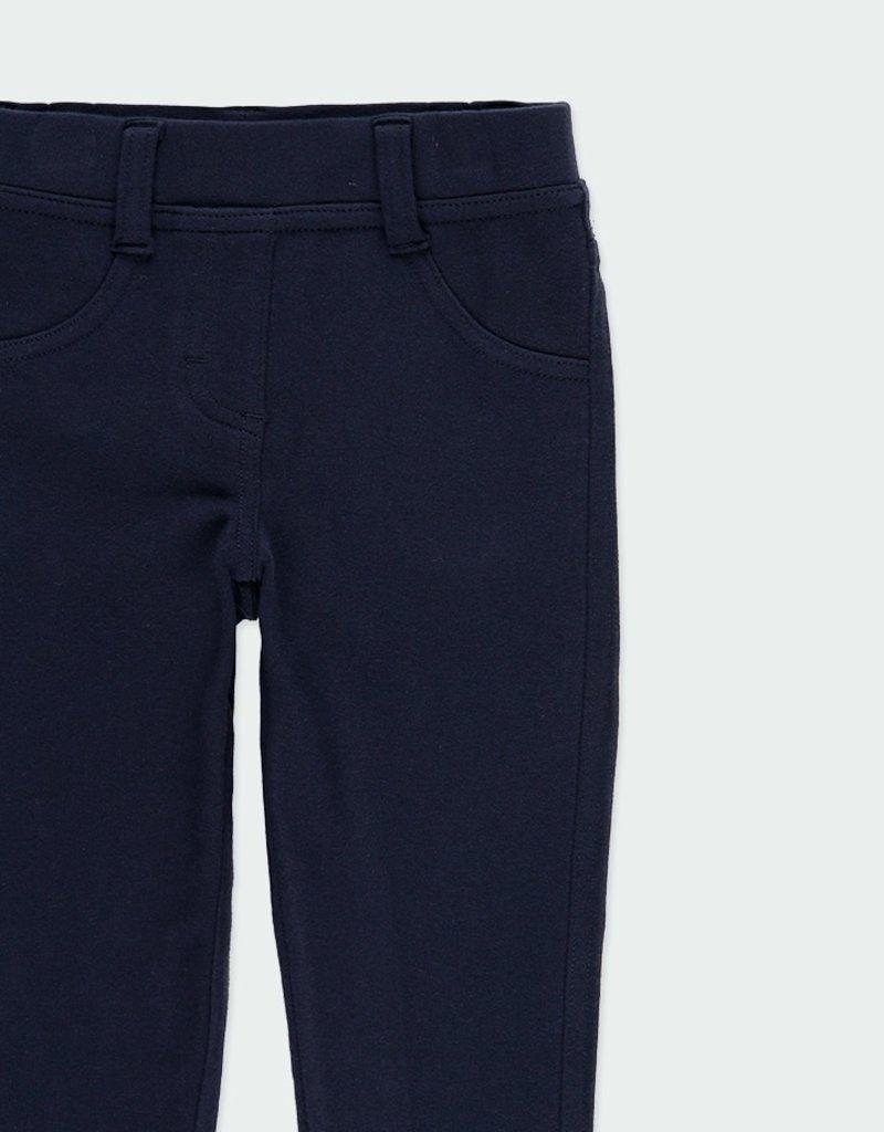 Boboli Boboli Stretch Fleecy Navy Pants