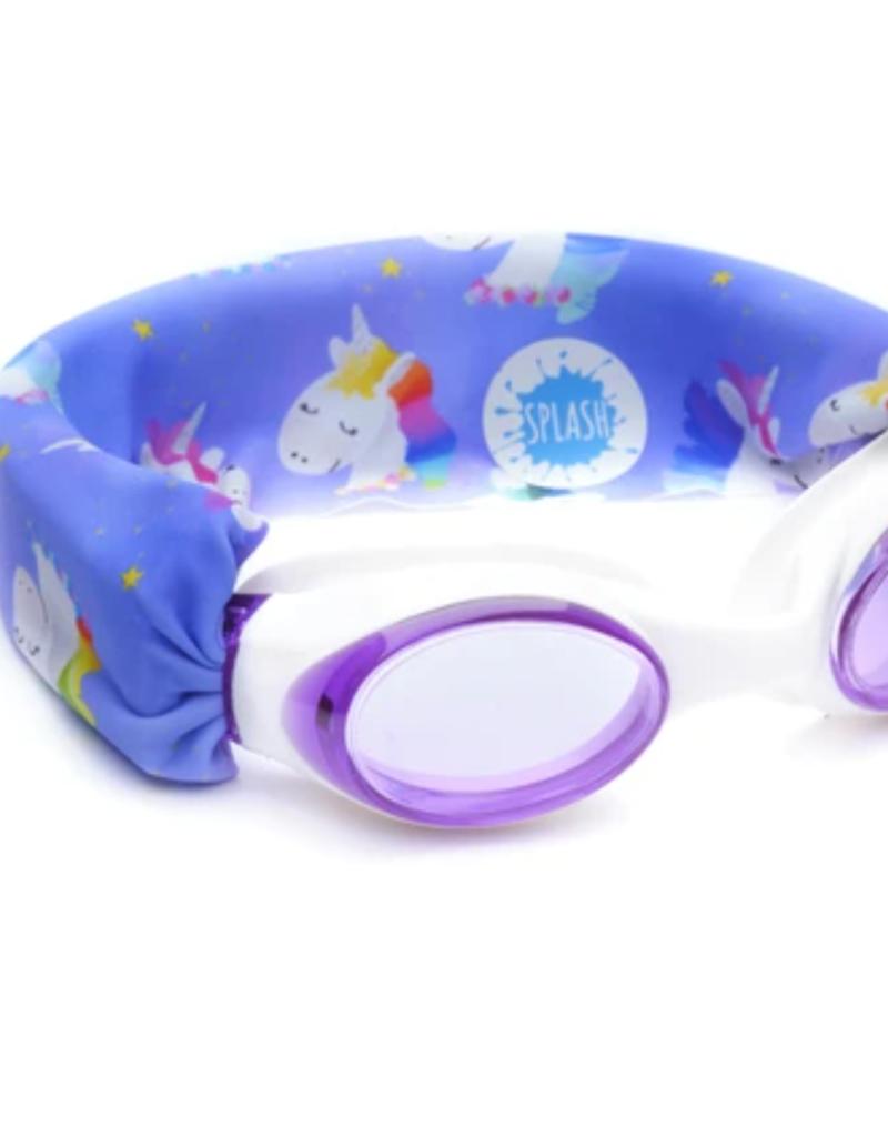 Splash Swim Goggles Rainbow Unicorn Swim Goggles