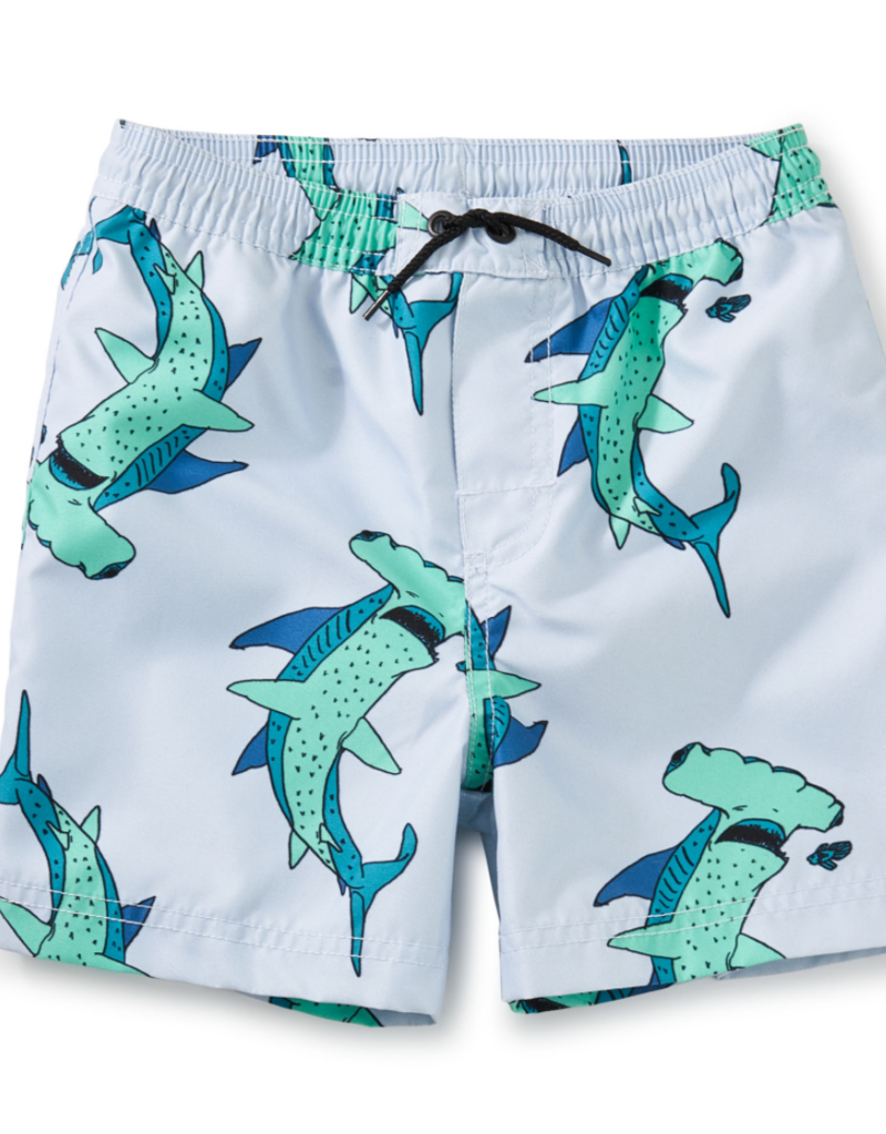 Tea Collection Mid-Length Swim Trunk Hammerhead Time