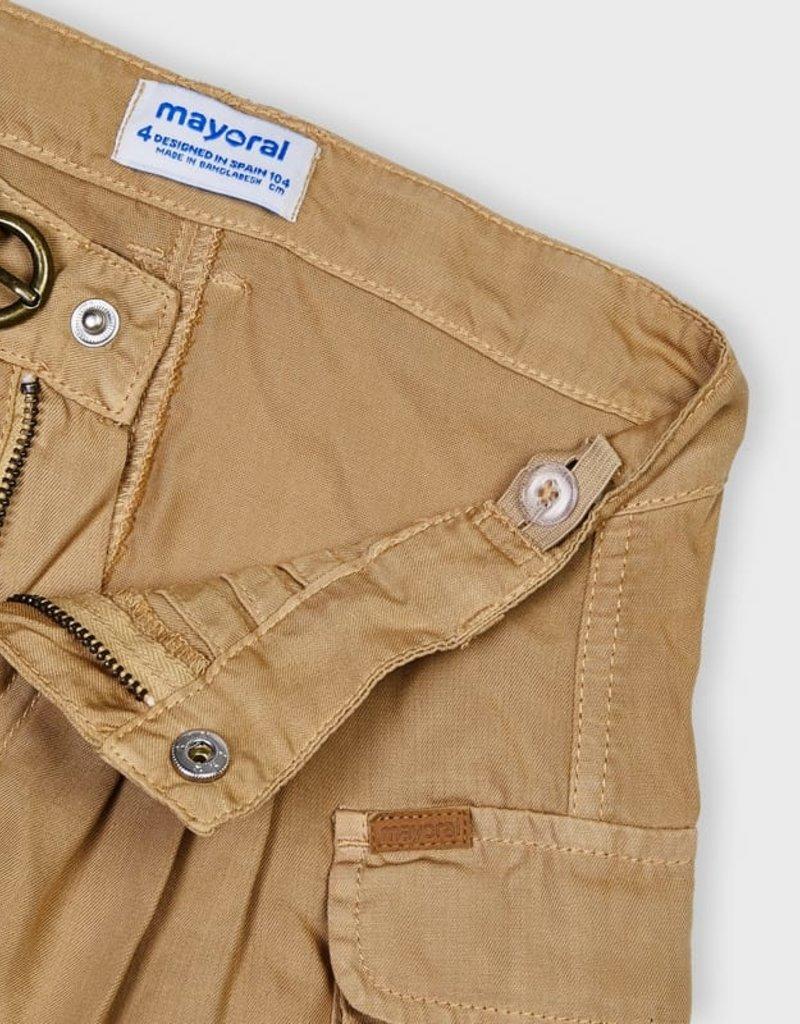 Mayoral Ecofriends Cargo Shorts Carmel