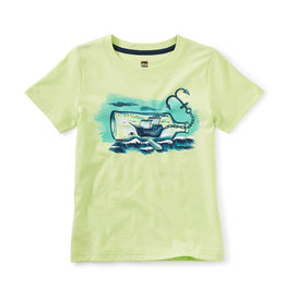Tea Collection Ship in a Whale Bottle Tee 2-12