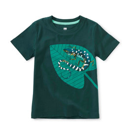Tea Collection Glow in the Dark Reptile Tee 2T-12