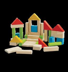 Plan Toys Colorful 40 Unit Blocks