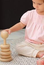 Plan Toys Stacking Rings Natural