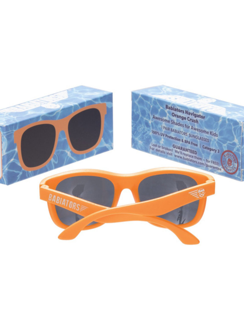 Babiators Orange Crush Navigator Sunglasses