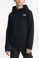 North Face Boys Glacier Full Zip Hoody Black
