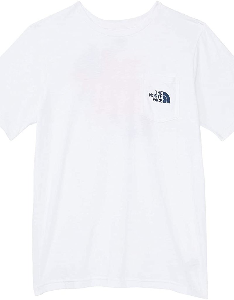 North Face Boys S/S Camping Tri Blend Tee