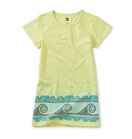 Tea Collection T Shirt Dress Kiwi 2-12