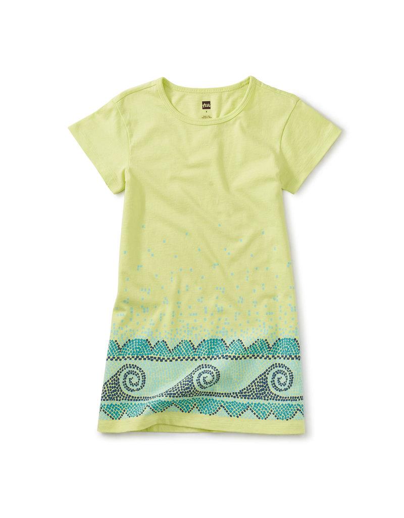 Tea Collection T Shirt Dress Kiwi