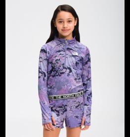 North Face Girls On Mount Shorts Swirl Lavender