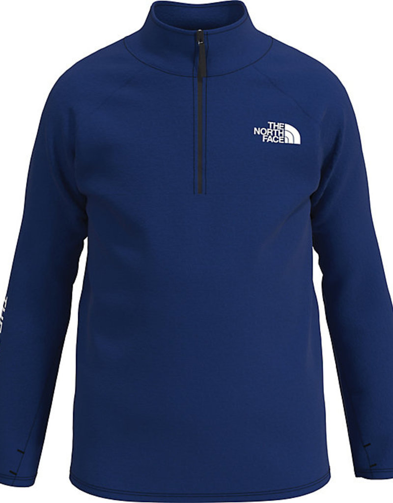 North Face Boys Reactor 1/4 Zip Bolt Blue