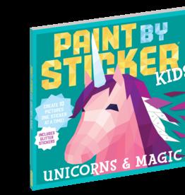 Workman Publishing Paint By Sticker Kids:Unicorns and Magic