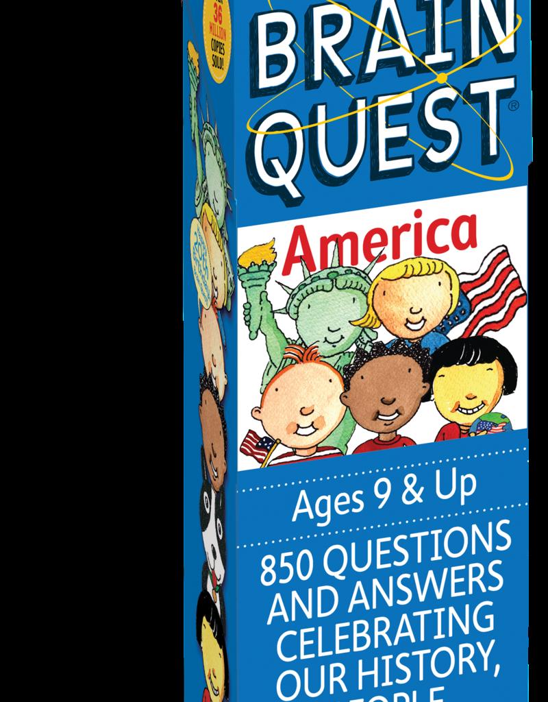 Workman Publishing Brain Quest: America 3rd Edition
