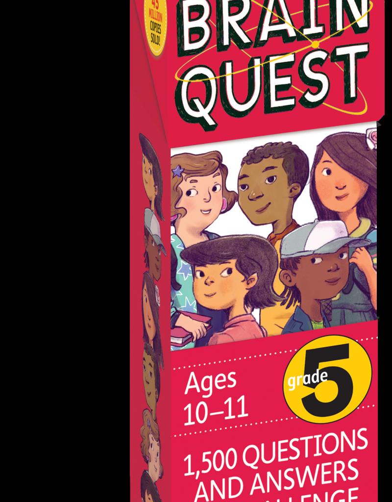 Workman Publishing Brain Quest: Grade 5 Rev. 4Th Ed.