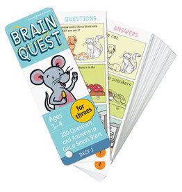 Workman Publishing Brain Quest: For Threes Rev. 4Th Ed.