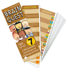 Workman Publishing Brain Quest: Grade 7 Rev. 4Th Ed.