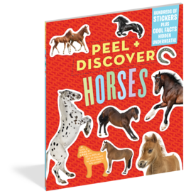 Workman Publishing Peel + Discover: Horses