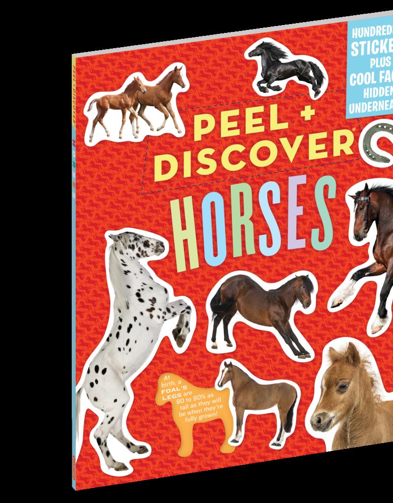 Workman Publishing Peel + Discover: Horses